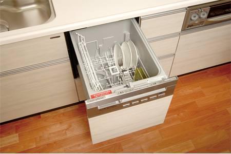 新築ビルトイン食洗機取付工事